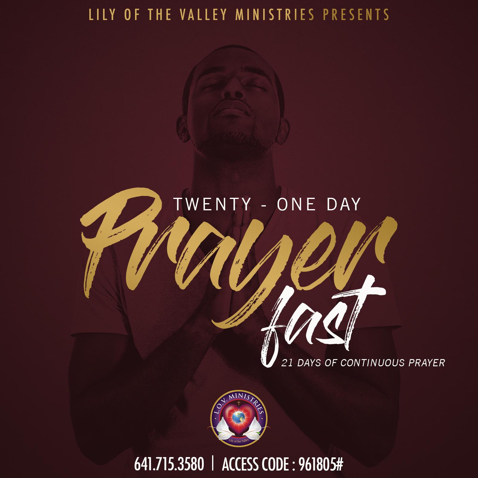 21 day prayer fast